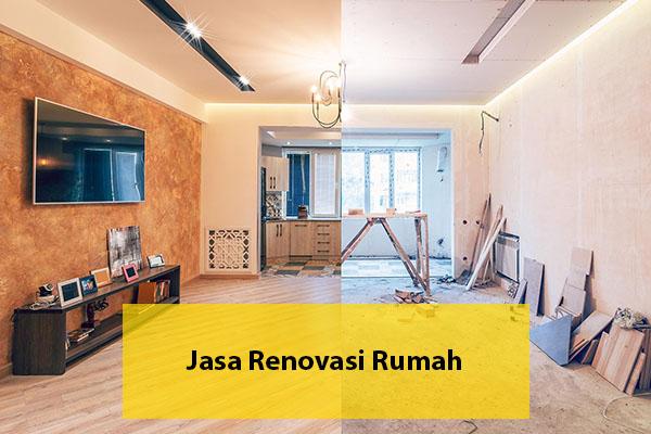 Jasa renovasi rumah di Bekasi murah